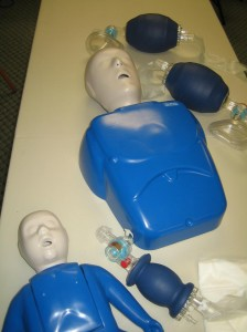 "CPR level ""B"" Training"