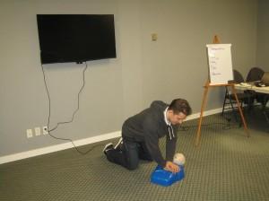 First Aid Training Class in Grande Prairie